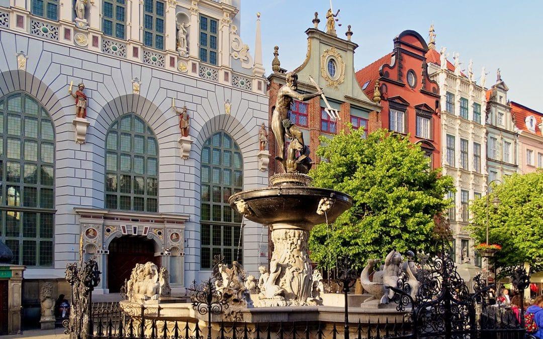 Gdańsk-Fontanna Neptuna (1633)