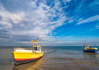 Gdynia - łodzie rybackie w Orłowie