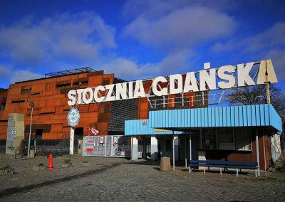 Zwiedzanie Stoczni Gdańskiej i ECS